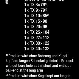05024335001 967/9 TX BO MULTICOLOUR 1 L-KEY SET FOR TAMPER-PROOF,BLACKLASER