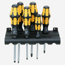 05018282001 932/6 RACK SCREWDRIVER SET KRAFTFORM CHISELDRIVER