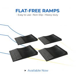 Flat free ramps