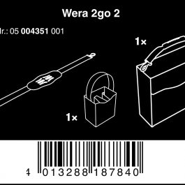 05004351001  Wera 2Go 2 Tool Container