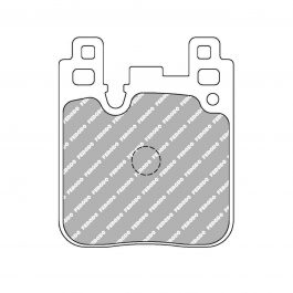 Ferodo FCP4663W DS1.11 Brake Pads Part #: 11 FCP4663W-N